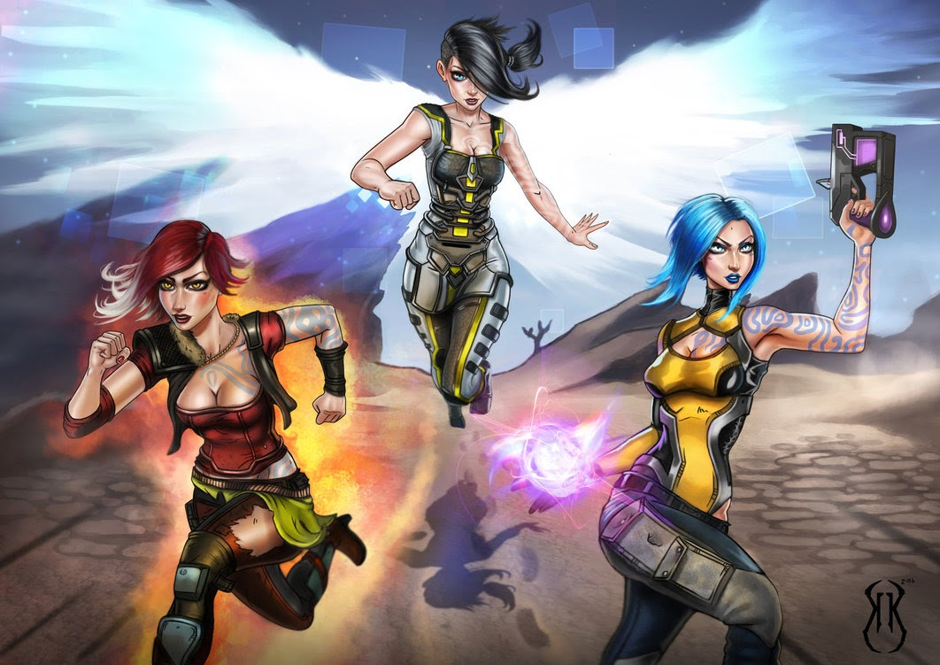 Sirens of Borderlands - KyleKayhos - DA