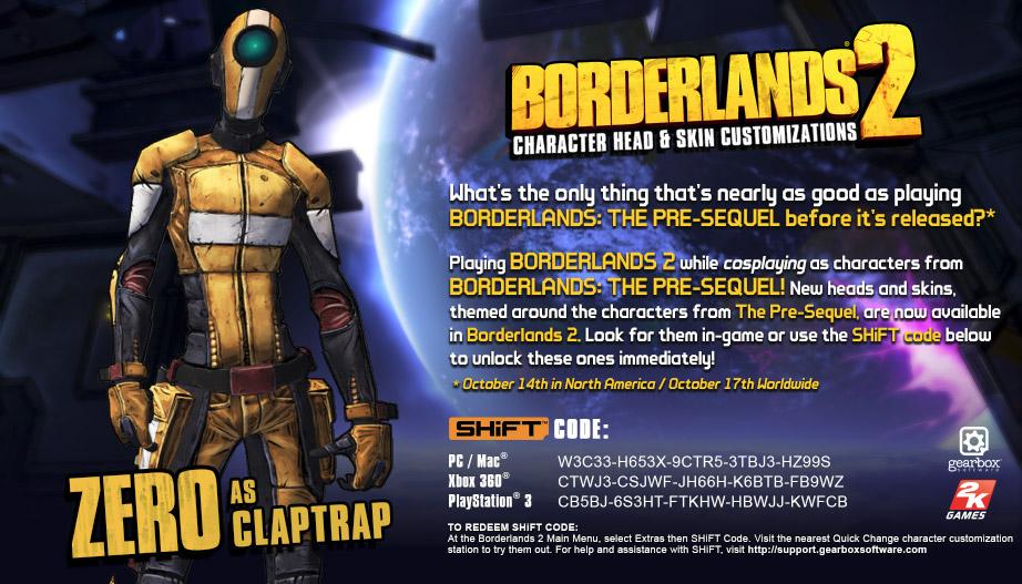 Borderlands 2 Zero Heads   www.pixshark.com - Images ...
