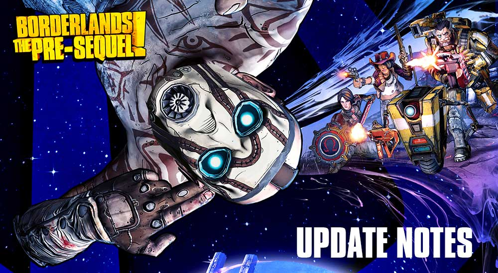 Borderlands: The Pre-Sequel Update Notes And Holodome