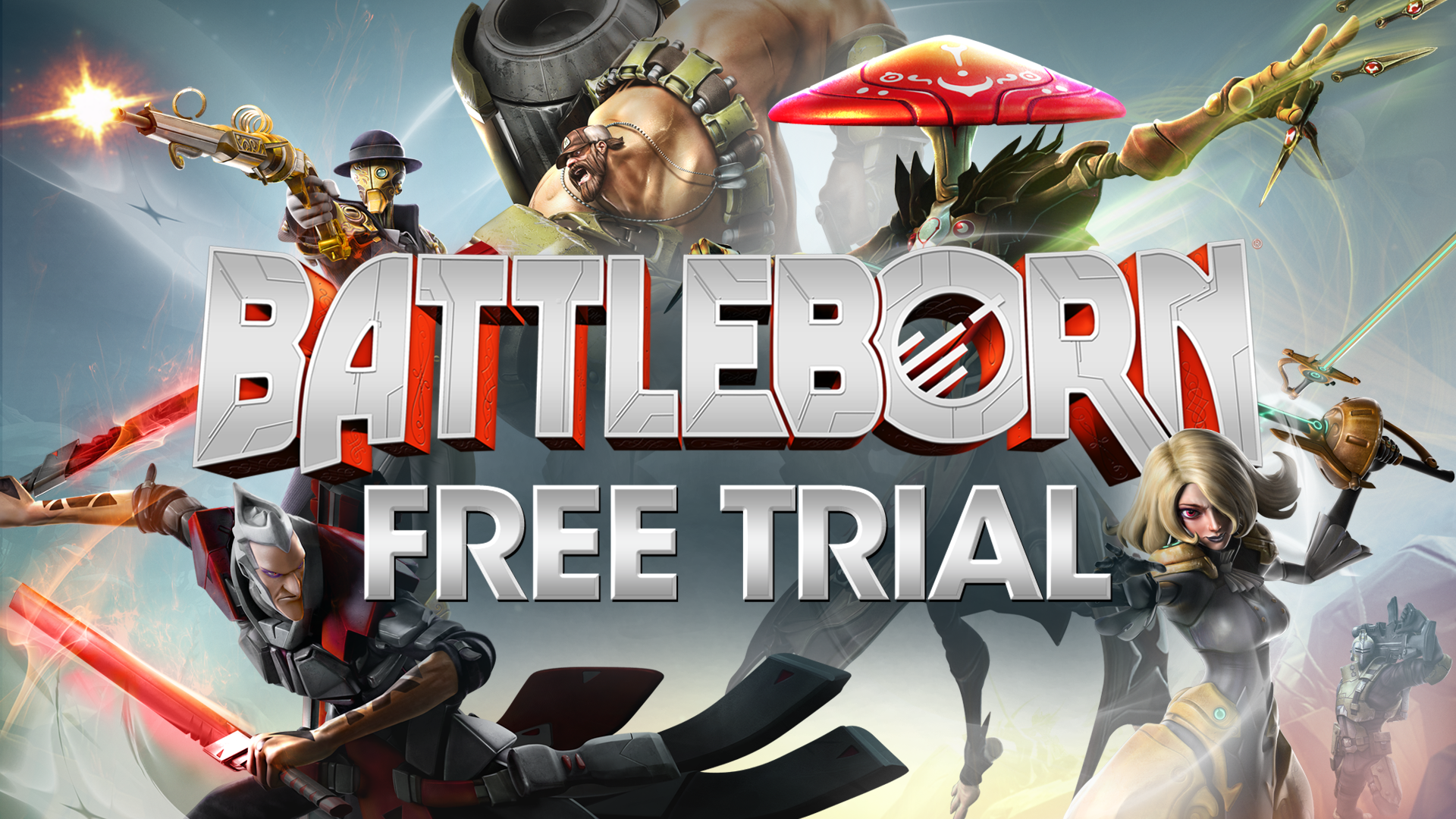 Gearbox Software Announces the Battleborn Free Trial
