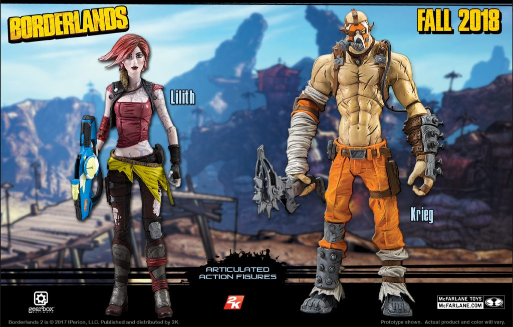 Krieg, Lilith Newest Additions to McFarlane Toy's