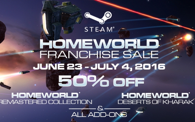 Homeworld: Remastered Collection & Homeworld: Deserts of Kharak On Sale!