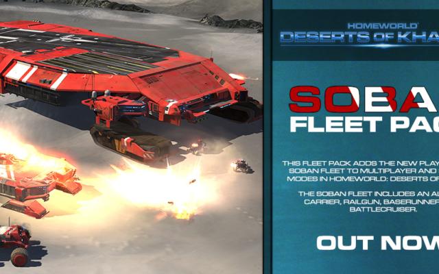 Soban Fleet Pack Out Now + Homeworld Franchise Steam Sale