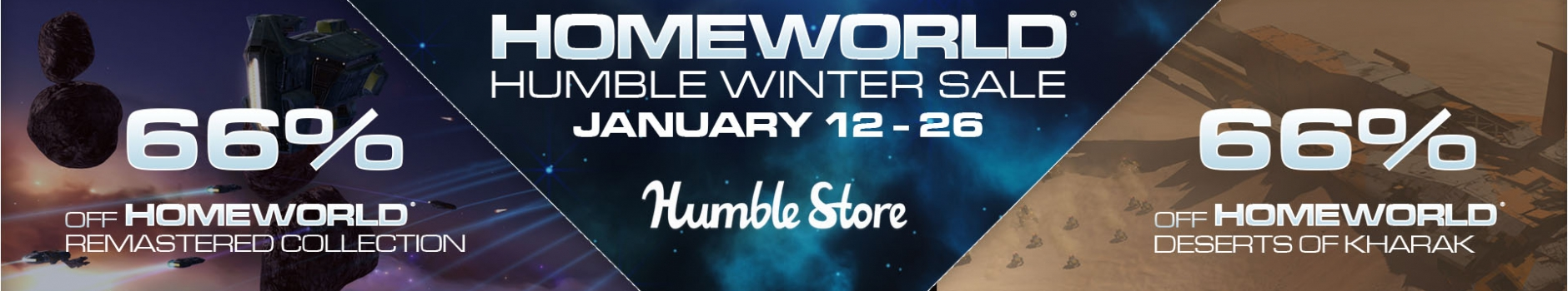 Save Big on Homeworld Titles in Humble's Winter Sale!