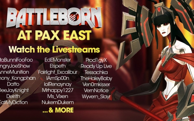 Gearbox and Battleborn at PAX East 2016