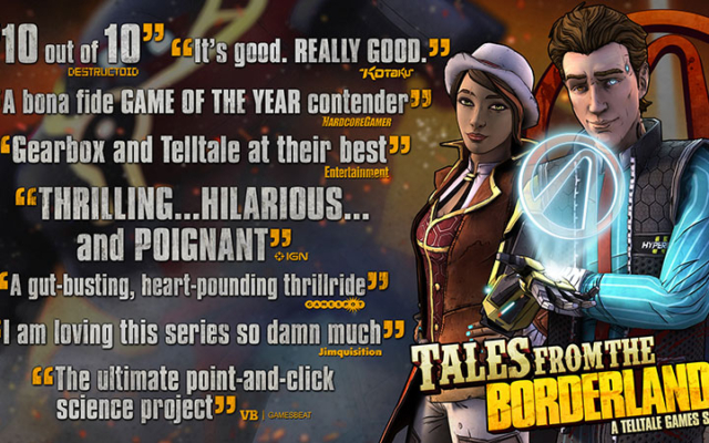Tales From The Borderlands Physical Edition Available Now!